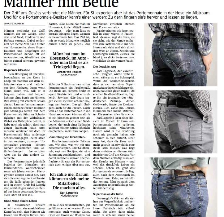 St. Galler Tagblatt, Sommer 2014