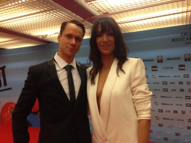 Mario Torriani und Melanie Winiger.