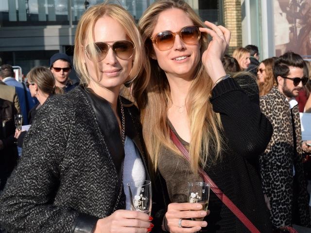 Model Sarina Arnold und Ex-Miss Fiona Hefti.