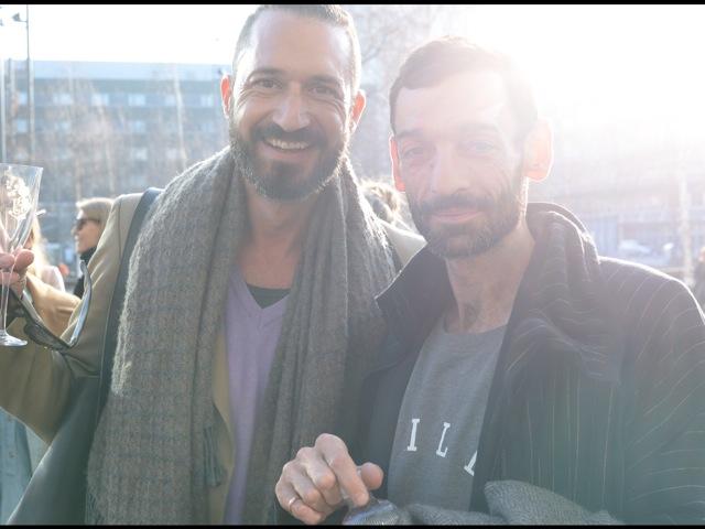 Pioniere der Schweizer Mode: Rolf Nungesser und Christian Reymond von Real Time Society.