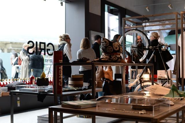 Der Concept Store an der Europaallee