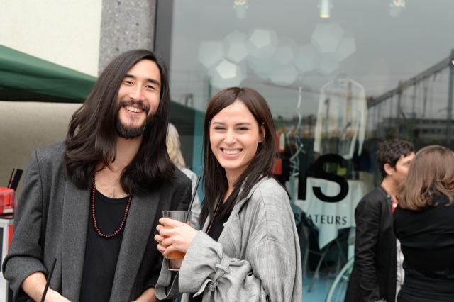 Traumpaar: die Models Anthony Thornburg und Lisa Mettier.