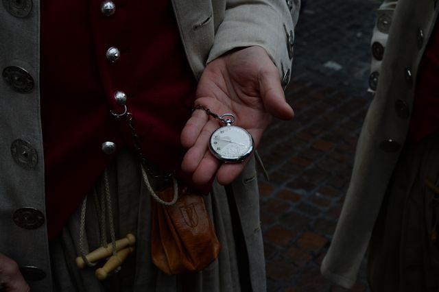 Taschenuhr vom Grossvater