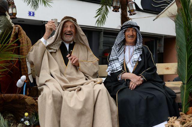 Die Kämbel-Altherren sind guter Laune