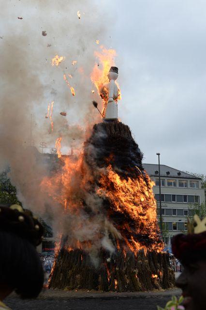 Der Böögg brennt...
