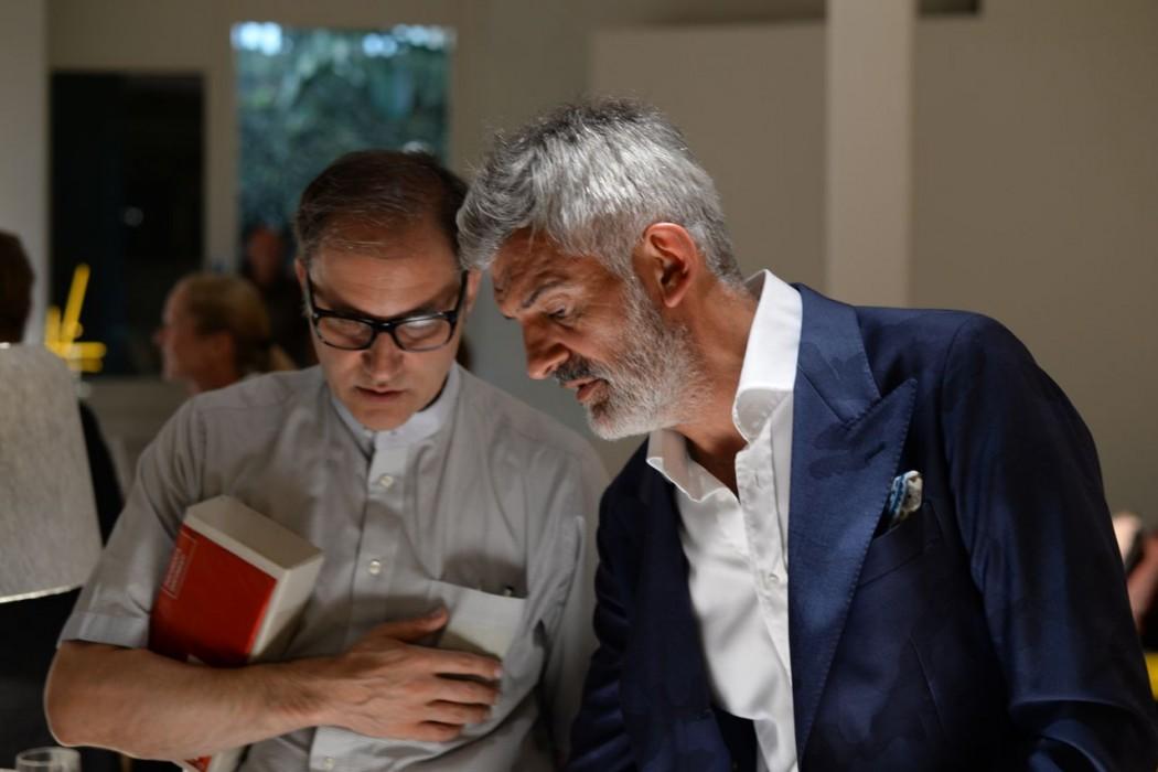 Designer Alfredo Häberli (rechts)