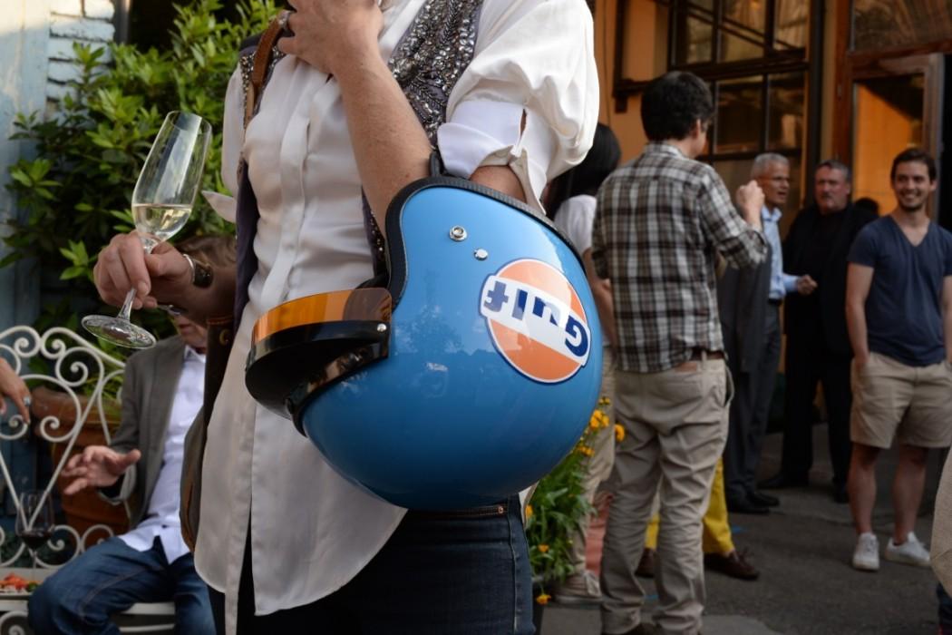 Der coole Helm von Rachel Schiliro