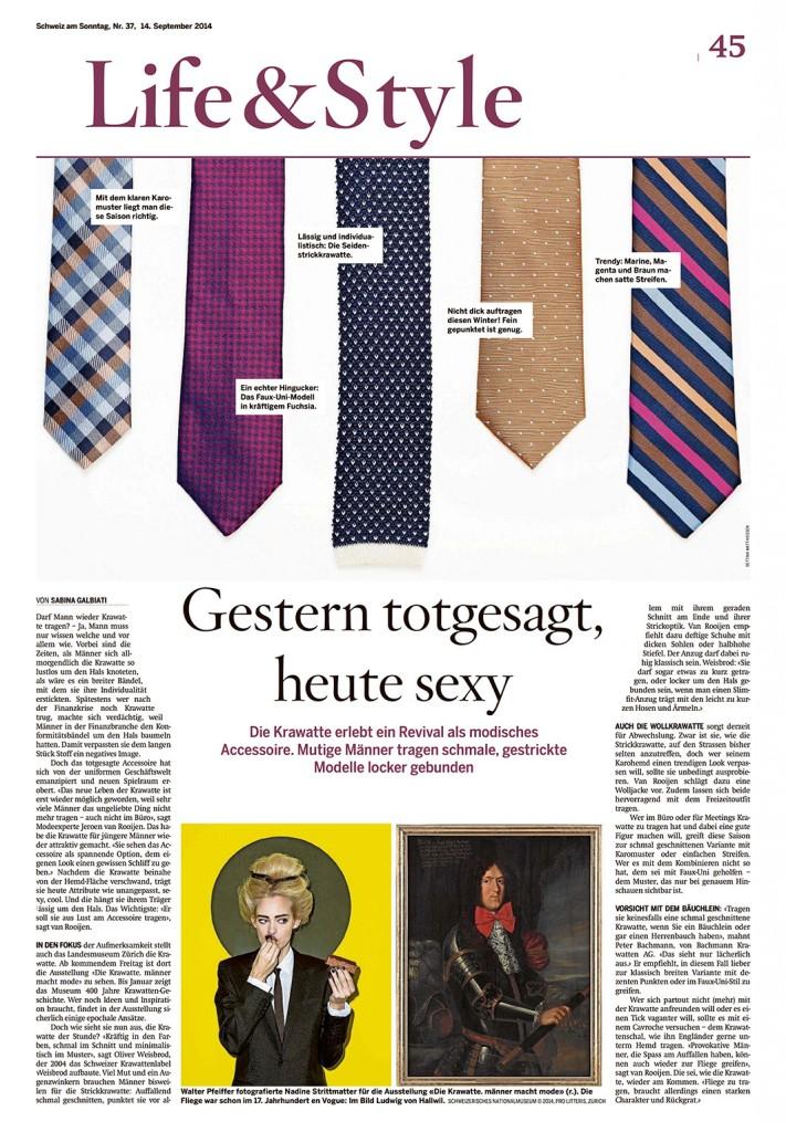 CHamSonntag-Krawatte