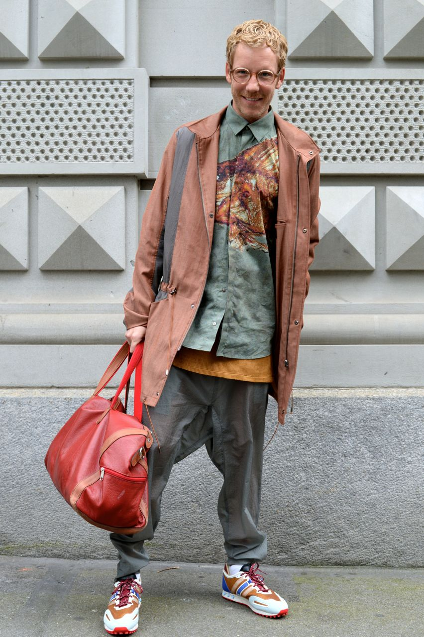 Kann ein Mann rot tragen?   van Rooijen Style Post