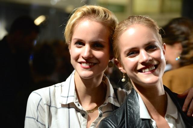 Model Twin Sisters