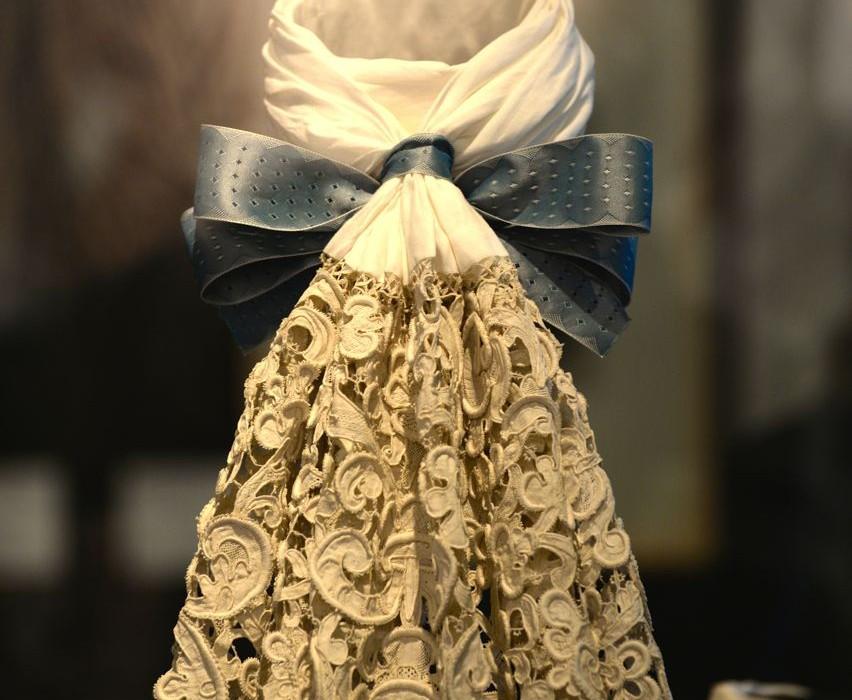 Historische Jabot-Krawatte