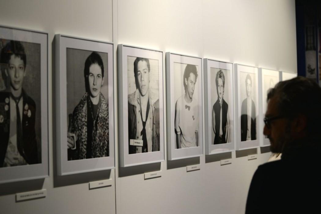 Porträt von Krawatten-Rebellen aus den 80's