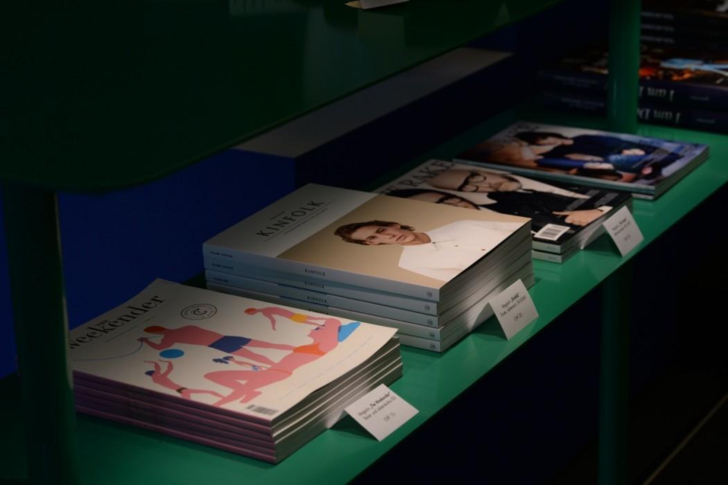 Magazine aus aller Welt, u.a. Weekender, Kinfolk, Inventory, Rake ...