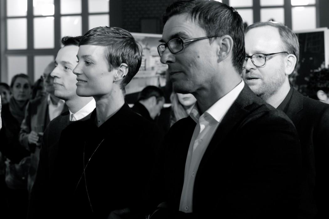 Saskia Diez, Jürgen Müller, Christoph Amend.