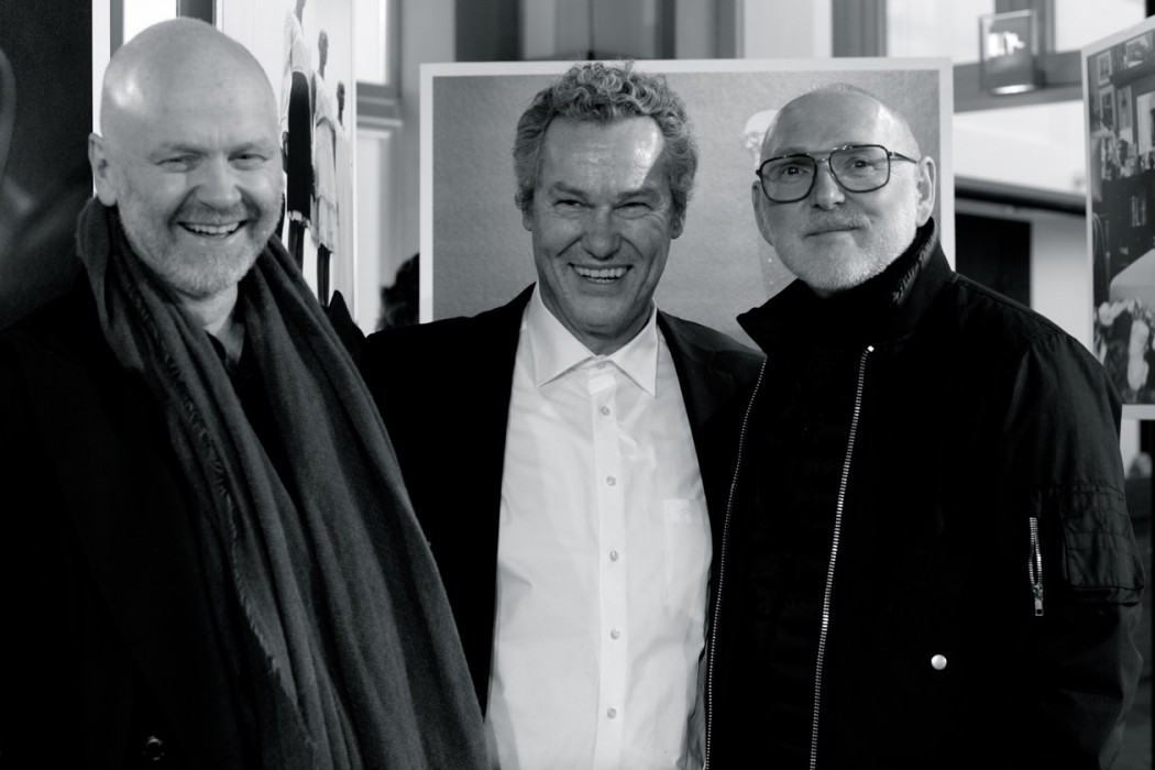 Jörg Ehrlich, Helmut Fricke, Otto Drögsler.