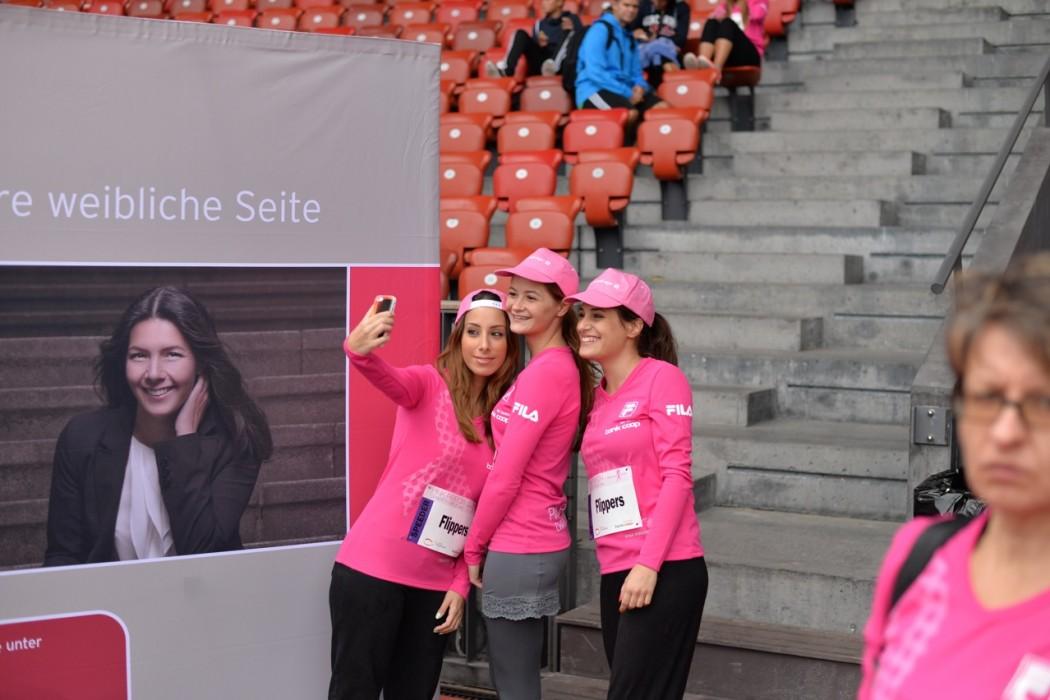 Selfies wurden zu Tausenden gemacht