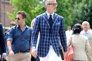 Trägt Mann weisse Hosen?