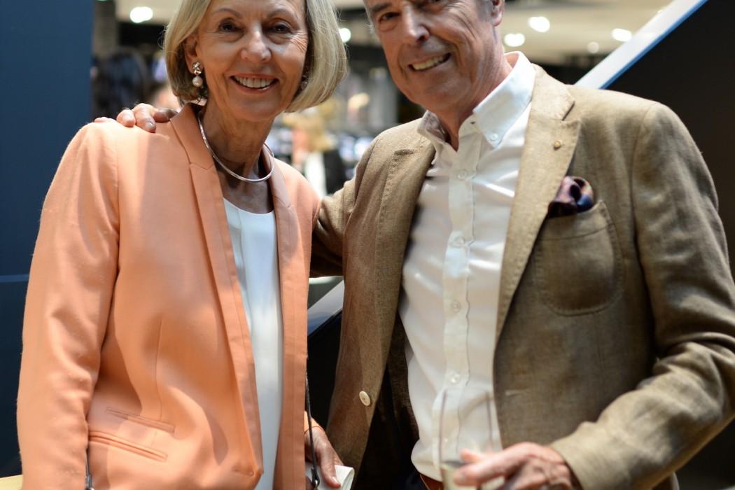 Ex-Globus-Chef Dr. Georg Bösch und seine Frau.