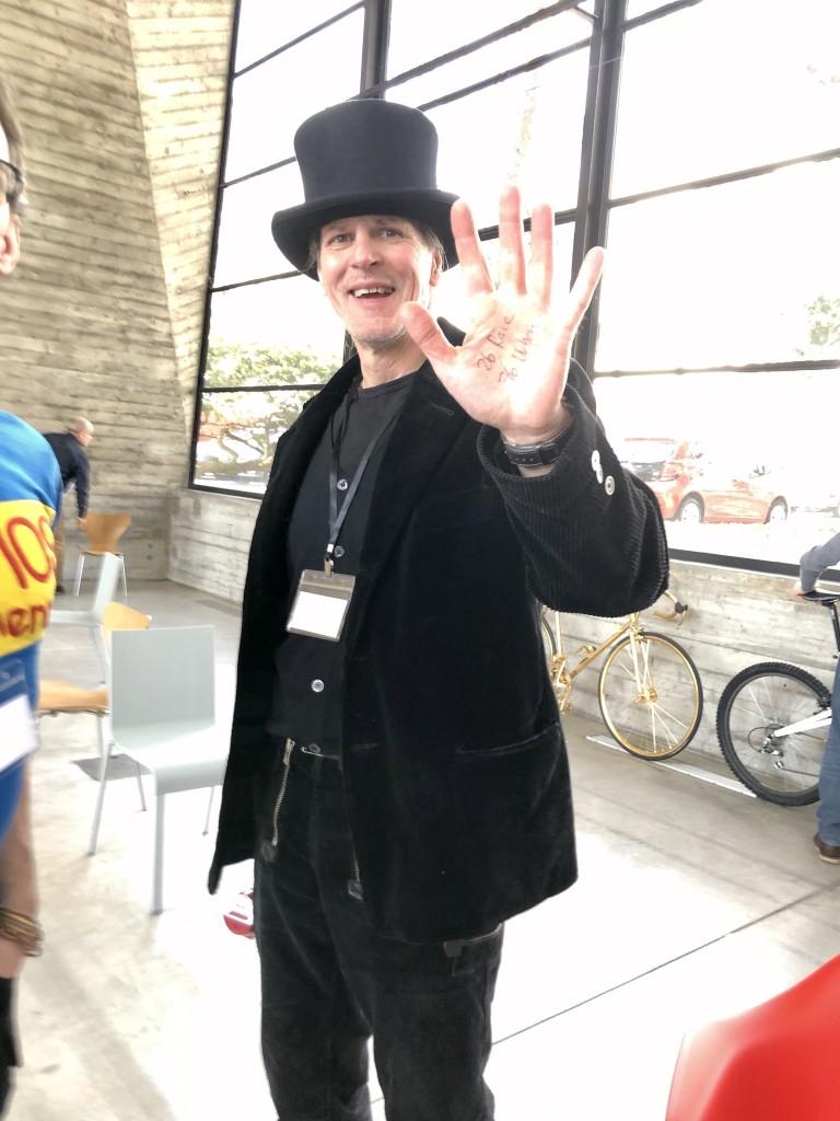 Veranstalter Stefan Schäfter vom Concours Velo.