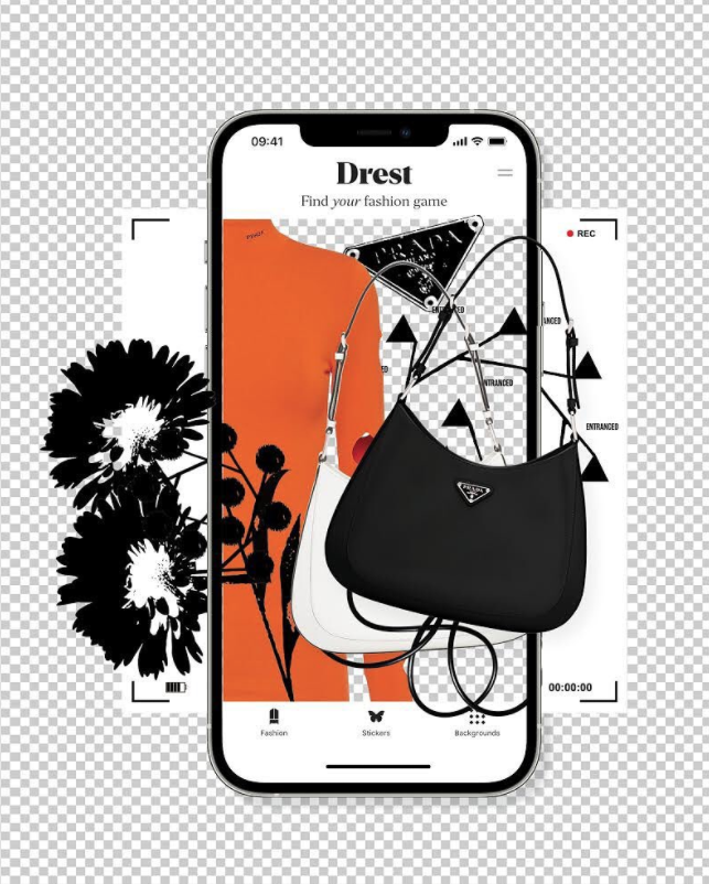 Das Fashion-Game «Drest». (Quelle: Instagram)
