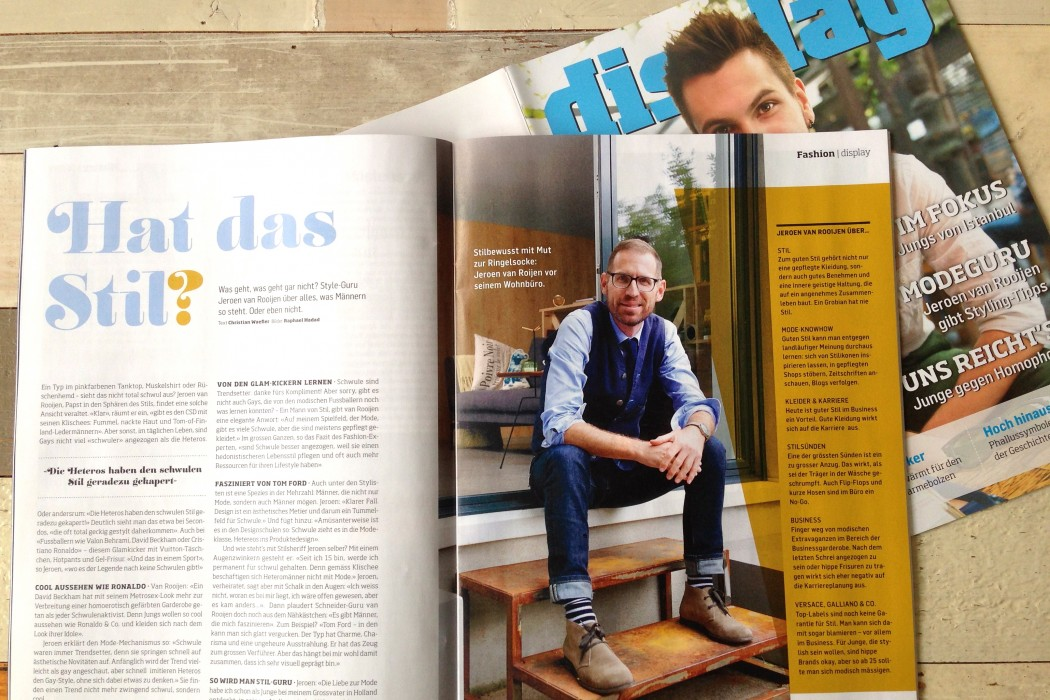 "Gay-Magazin ""Display"", Nov. 2013"