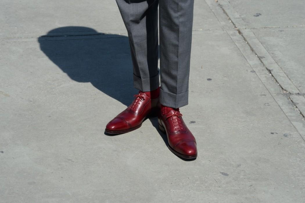 Kann Ein Mann Rote Schuhe Tragen Van Rooijen Style Post