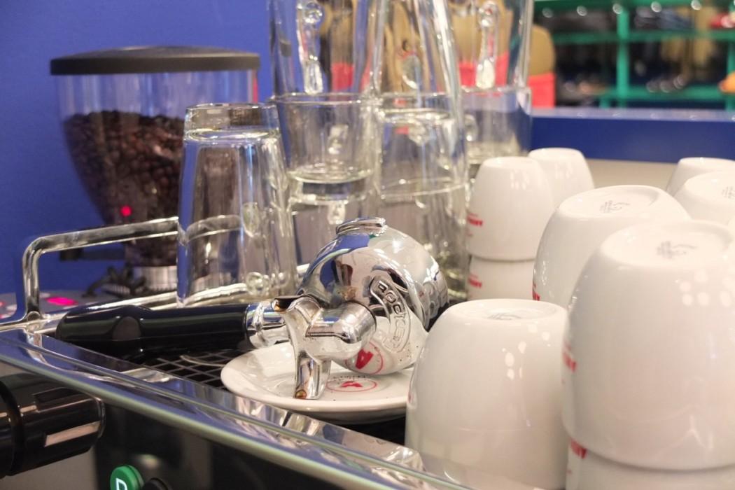 Die tolle Rocket-Kaffeemaschine