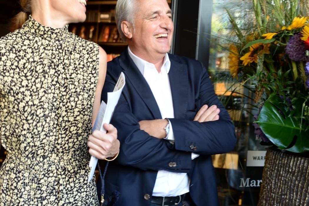 Ex-Unternehmensleiter Urs Leuenberger (in Pension).